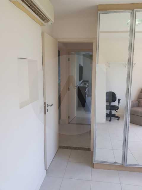 15 -Flat Camboinhas. - Imobiliária Agatê Imóveis vende Apartamento/Flat de 60m² por R 420.000 - Camboinhas - Niterói/RJ. - HTFL20001 - 17
