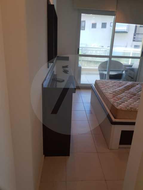 16 -Flat Camboinhas. - Imobiliária Agatê Imóveis vende Apartamento/Flat de 60m² por R 420.000 - Camboinhas - Niterói/RJ. - HTFL20001 - 18
