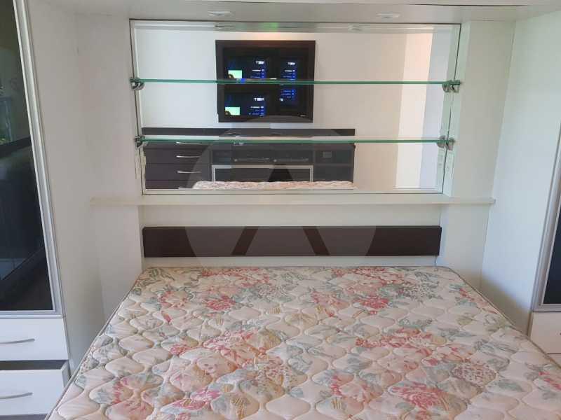 17 -Flat Camboinhas. - Imobiliária Agatê Imóveis vende Apartamento/Flat de 60m² por R 420.000 - Camboinhas - Niterói/RJ. - HTFL20001 - 19