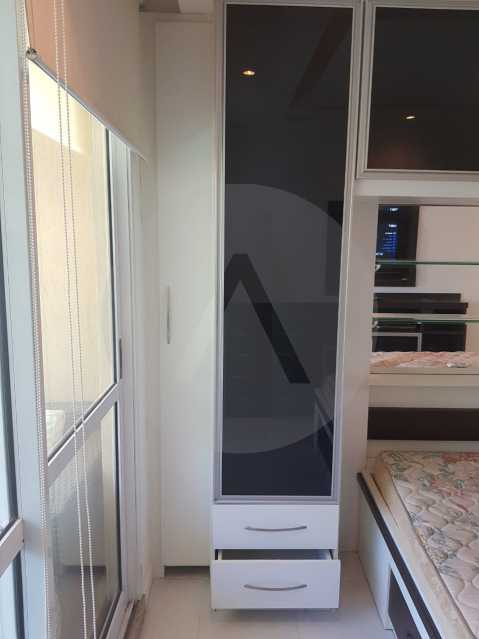 21 -Flat Camboinhas 2. - Imobiliária Agatê Imóveis vende Apartamento/Flat de 60m² por R 420.000 - Camboinhas - Niterói/RJ. - HTFL20001 - 23