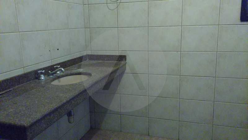 9 - Banheiro Suite - Imobiliária Agatê Imóveis vende Casa Linear - Itaipu - Niterói. - HTCA20004 - 12