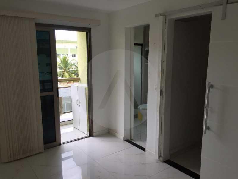 3- Flat Itaipu. - Imobiliária Agatê Imóveis vende Flat de 62m² Itaipu - Niterói por 300 mil reais. - HTFL10010 - 4