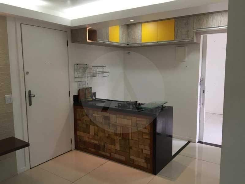 5- Flat Itaipu. - Imobiliária Agatê Imóveis vende Flat de 62m² Itaipu - Niterói por 300 mil reais. - HTFL10010 - 6