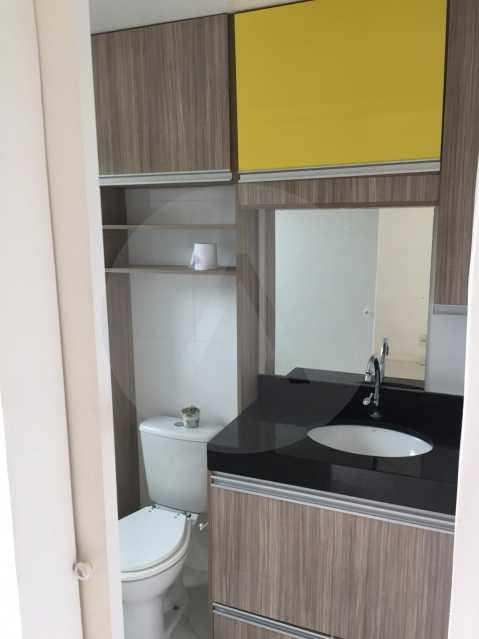 6- Flat Itaipu. - Imobiliária Agatê Imóveis vende Flat de 62m² Itaipu - Niterói por 300 mil reais. - HTFL10010 - 7