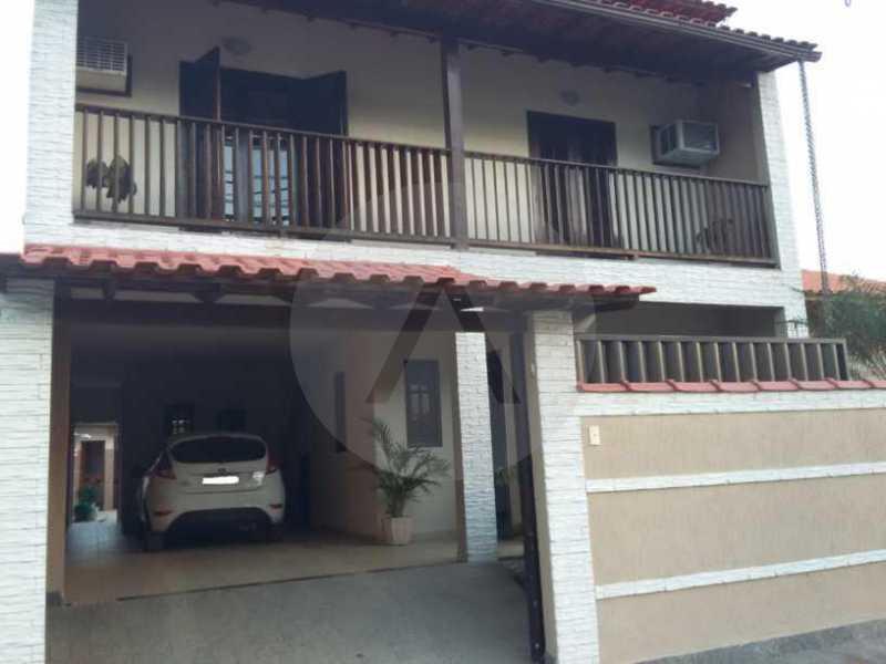 2 Casa em Condomínio Itaipu - Imobiliária Agatê Imóveis vende Casa em Condomínio de 230m² Itaipu - Niterói. - HTCN30084 - 3