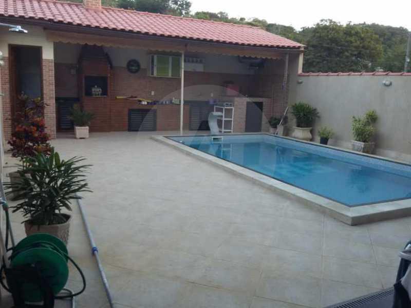 1 Casa em Condomínio Itaipu - Imobiliária Agatê Imóveis vende Casa em Condomínio de 230m² Itaipu - Niterói. - HTCN30084 - 1