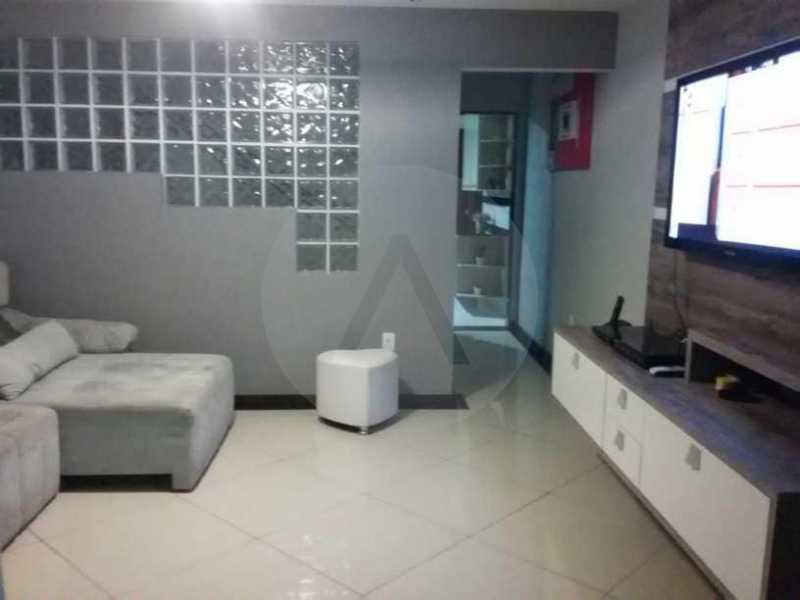 5 Casa em Condomínio Itaipu - Imobiliária Agatê Imóveis vende Casa em Condomínio de 230m² Itaipu - Niterói. - HTCN30084 - 6