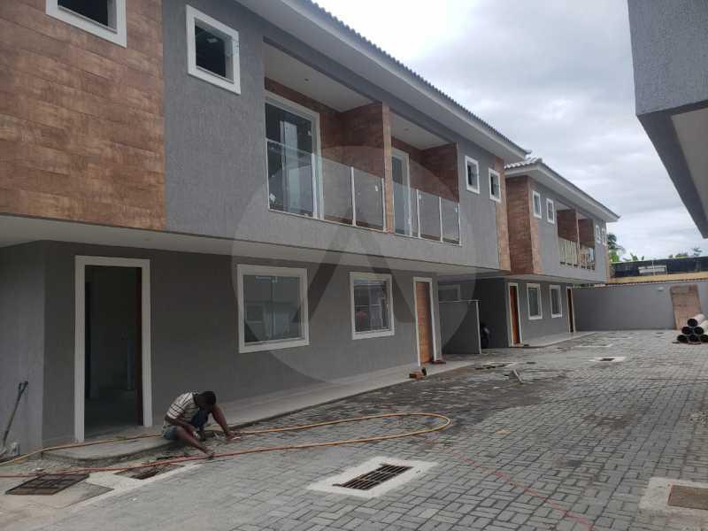 5 Casa Condominio Piratininga - Imobiliária Agatê Imóveis vende Lançamento de Casas em Condomínio de 117 m² Piratininga - Niterói por 580 mil reais. - HTCN30085 - 6