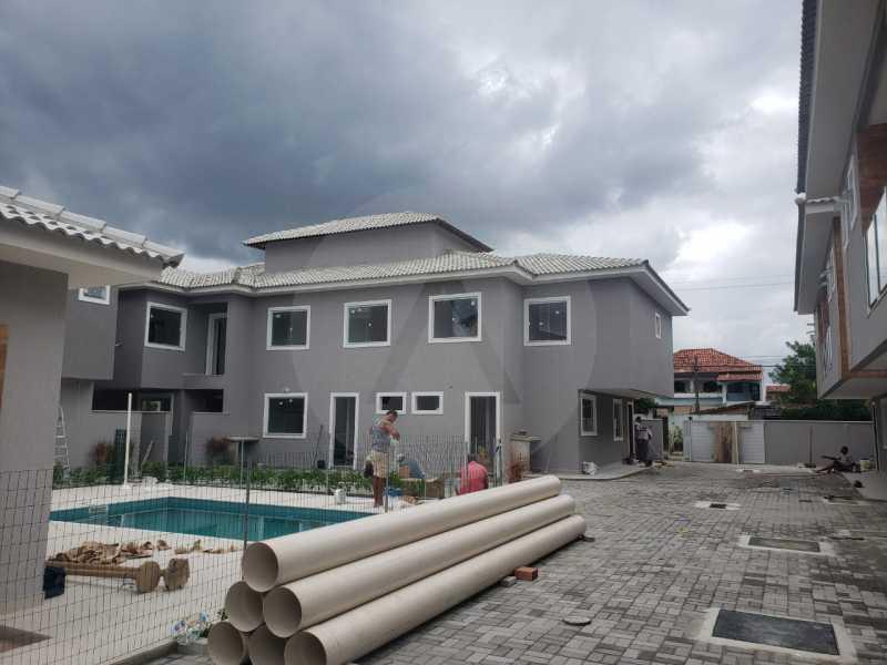 4 Casa Condominio Piratininga - Imobiliária Agatê Imóveis vende Lançamento de Casas em Condomínio de 117 m² Piratininga - Niterói por 580 mil reais. - HTCN30085 - 5