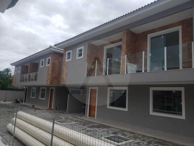 8 Casa Condominio Piratininga - Imobiliária Agatê Imóveis vende Lançamento de Casas em Condomínio de 117 m² Piratininga - Niterói por 580 mil reais. - HTCN30085 - 9