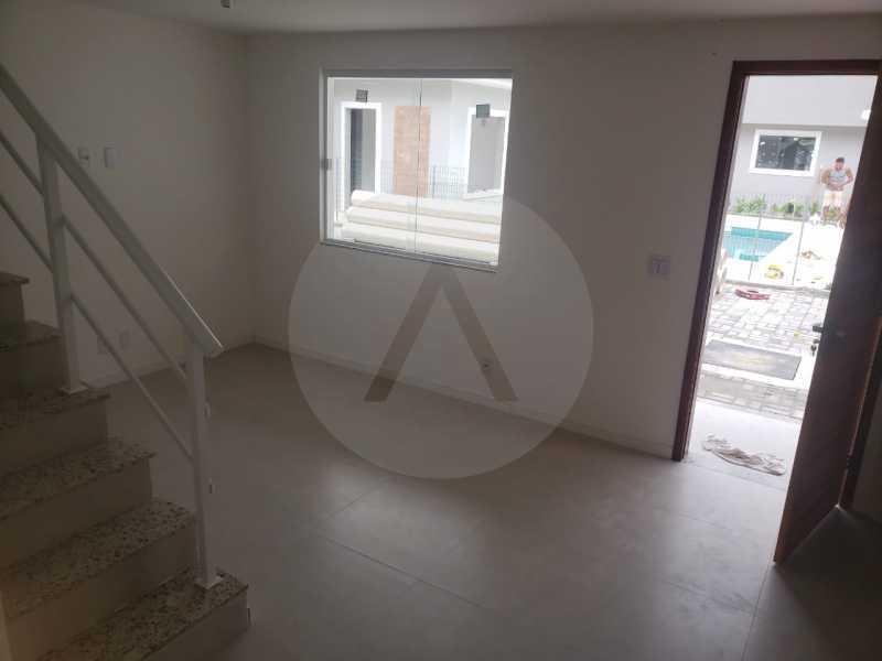 10 Casa Condominio Piratininga - Imobiliária Agatê Imóveis vende Lançamento de Casas em Condomínio de 117 m² Piratininga - Niterói por 580 mil reais. - HTCN30085 - 11