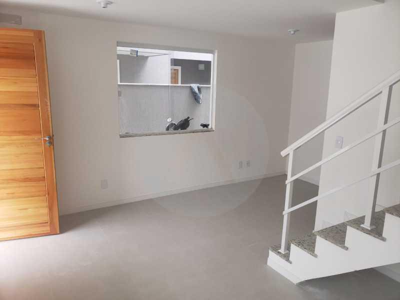 11 Casa Condominio Piratininga - Imobiliária Agatê Imóveis vende Lançamento de Casas em Condomínio de 117 m² Piratininga - Niterói por 580 mil reais. - HTCN30085 - 12