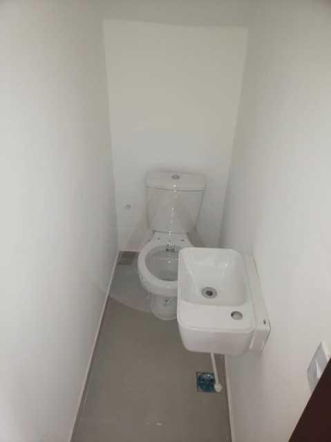 12 Casa Condominio Piratininga - Imobiliária Agatê Imóveis vende Lançamento de Casas em Condomínio de 117 m² Piratininga - Niterói por 580 mil reais. - HTCN30085 - 13