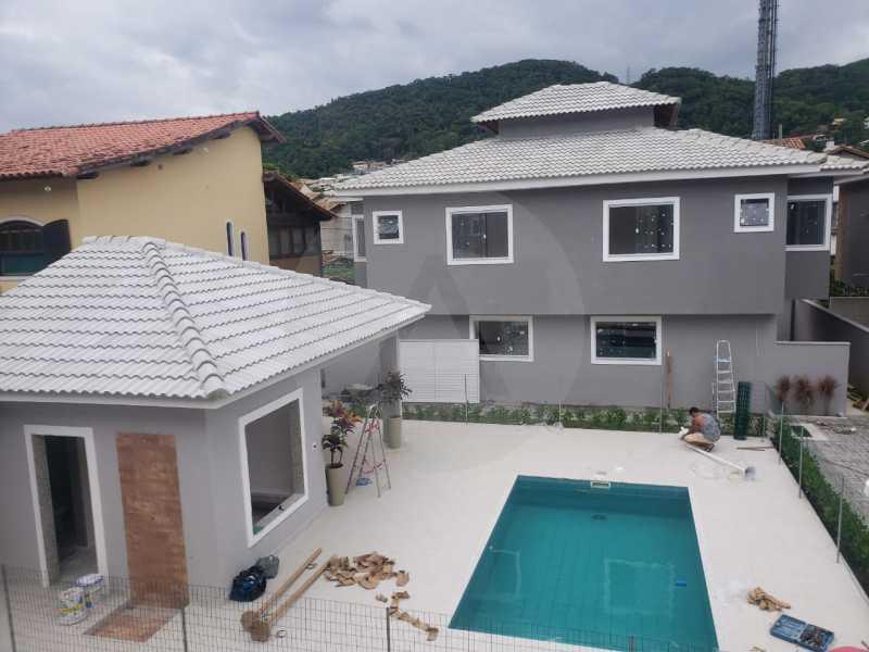 2 Casa Condominio Piratininga - Imobiliária Agatê Imóveis vende Lançamento de Casas em Condomínio de 117 m² Piratininga - Niterói por 580 mil reais. - HTCN30085 - 3