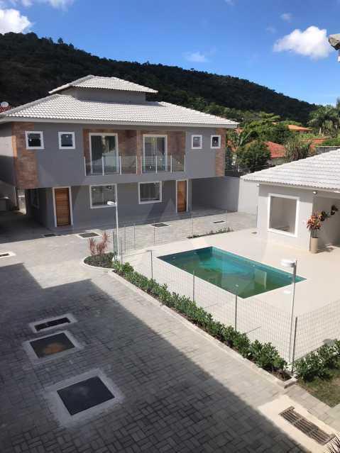 1 Casa Condominio Piratininga - Imobiliária Agatê Imóveis vende Lançamento de Casas em Condomínio de 117 m² Piratininga - Niterói por 580 mil reais. - HTCN30085 - 1