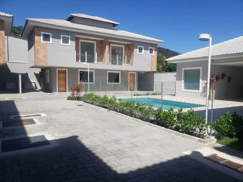 1 Casa Condominio Piratininga. - Imobiliária Agatê Imóveis vende Lançamento de Casas em Condomínio - Piratininga - Niterói. - HTCN30085 - 1