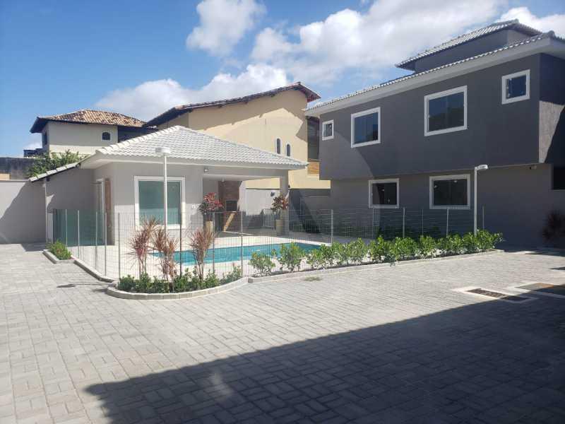 2 Casa Condominio Piratininga. - Imobiliária Agatê Imóveis vende Lançamento de Casas em Condomínio - Piratininga - Niterói. - HTCN30085 - 3