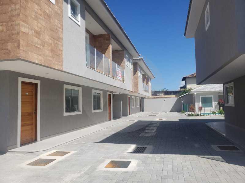 3 Casa Condominio Piratininga. - Imobiliária Agatê Imóveis vende Lançamento de Casas em Condomínio - Piratininga - Niterói. - HTCN30085 - 4