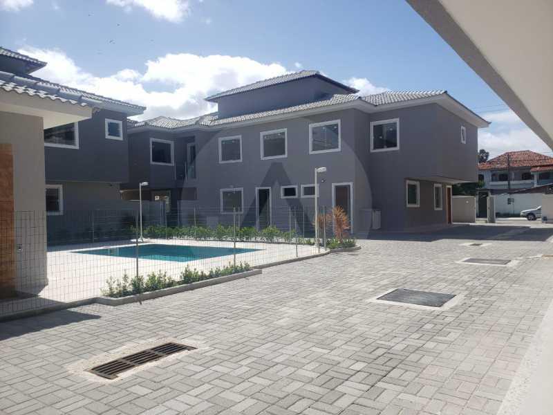 4 Casa Condominio Piratininga. - Imobiliária Agatê Imóveis vende Lançamento de Casas em Condomínio - Piratininga - Niterói. - HTCN30085 - 5