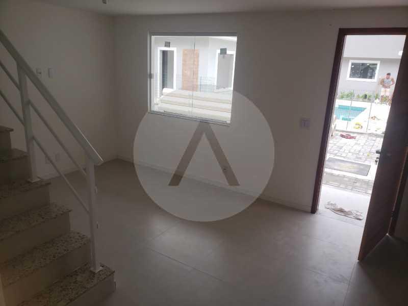 5 Casa Condominio Piratininga - Imobiliária Agatê Imóveis vende Lançamento de Casas em Condomínio - Piratininga - Niterói. - HTCN30085 - 6