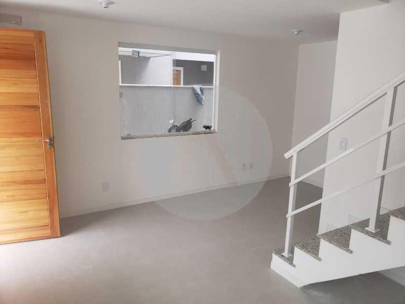 6 Casa Condominio Piratininga - Imobiliária Agatê Imóveis vende Lançamento de Casas em Condomínio - Piratininga - Niterói. - HTCN30085 - 7