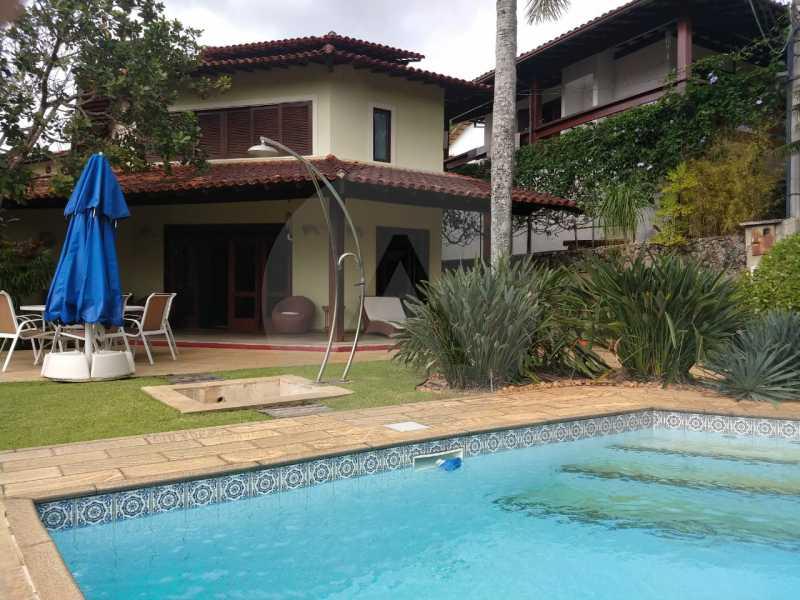 1 Casa Condomínio Pendotiba. - Imobiliária Agatê Imóveis vende Casa em Condomínio de 282 m² Pendotiba - Niterói por 1.700 mil reais. - HTCN50015 - 1