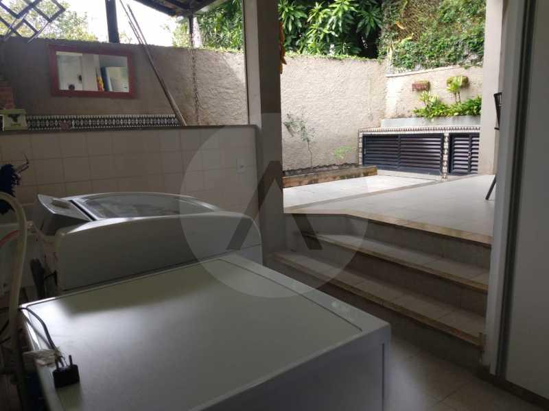 15 Casa Condomínio Pendotiba. - Imobiliária Agatê Imóveis vende Casa em Condomínio de 282 m² Pendotiba - Niterói por 1.700 mil reais. - HTCN50015 - 16
