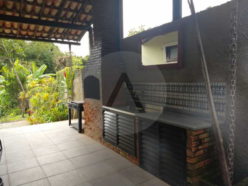17 Casa Condomínio Pendotiba. - Imobiliária Agatê Imóveis vende Casa em Condomínio de 282 m² Pendotiba - Niterói por 1.700 mil reais. - HTCN50015 - 18