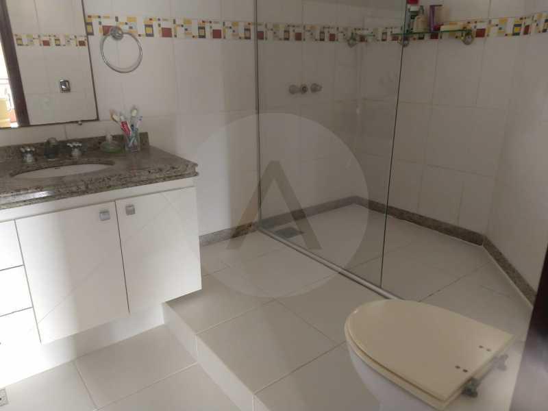 27 Casa Condomínio Pendotiba. - Imobiliária Agatê Imóveis vende Casa em Condomínio de 282 m² Pendotiba - Niterói por 1.700 mil reais. - HTCN50015 - 28