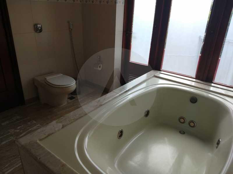 28 Casa Condomínio Pendotiba. - Imobiliária Agatê Imóveis vende Casa em Condomínio de 282 m² Pendotiba - Niterói por 1.700 mil reais. - HTCN50015 - 29