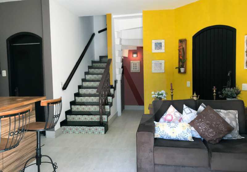 5 Casa Condomínio Itaipu. - Imobiliária Agatê Imóveis vende Casa Duplex em Mini Condomínio de 123m² Itaipu - Niterói. - HTCN30086 - 6