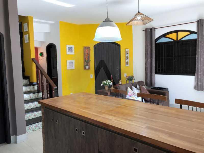 4 Casa Condomínio Itaipu. - Imobiliária Agatê Imóveis vende Casa Duplex em Mini Condomínio de 123m² Itaipu - Niterói. - HTCN30086 - 5