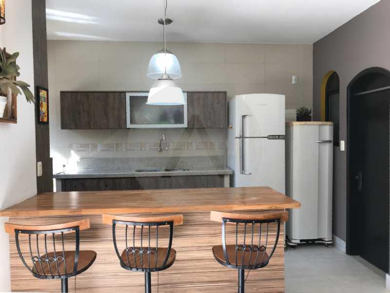 2 Casa Condomínio Itaipu. - Imobiliária Agatê Imóveis vende Casa Duplex em Mini Condomínio de 123m² Itaipu - Niterói. - HTCN30086 - 3
