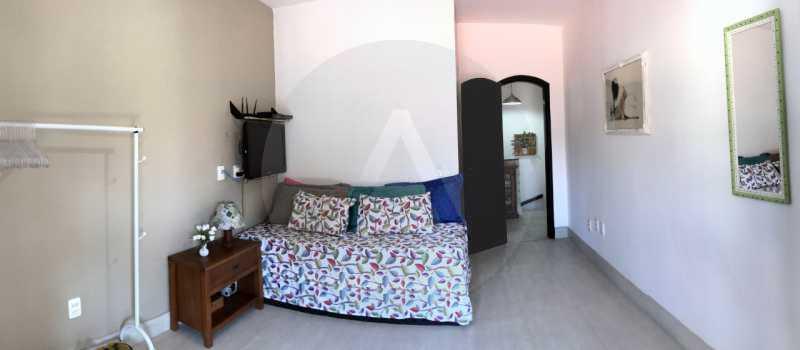 13 Casa Condomínio Itaipu. - Imobiliária Agatê Imóveis vende Casa Duplex em Mini Condomínio de 123m² Itaipu - Niterói. - HTCN30086 - 14
