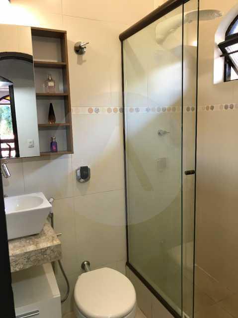 9 Casa Condomínio Itaipu. - Imobiliária Agatê Imóveis vende Casa Duplex em Mini Condomínio de 123m² Itaipu - Niterói. - HTCN30086 - 10