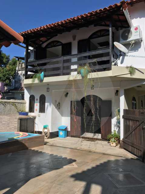 21 Casa Condomínio Itaipu. - Imobiliária Agatê Imóveis vende Casa Duplex em Mini Condomínio de 123m² Itaipu - Niterói. - HTCN30086 - 22