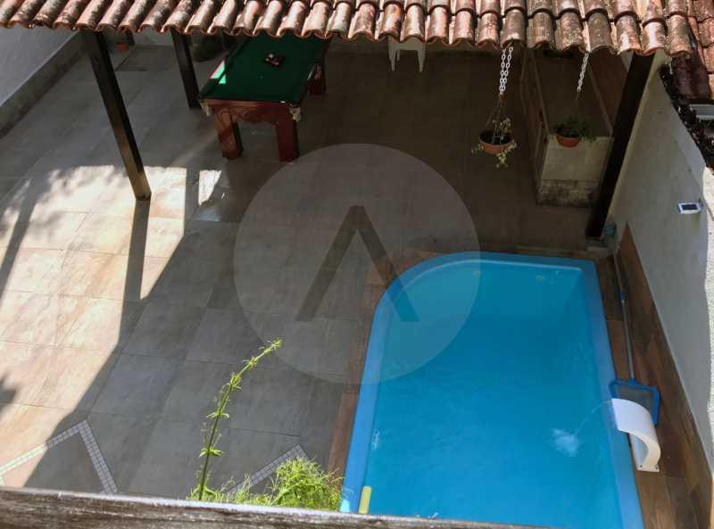8 Casa Condomínio Itaipu. - Imobiliária Agatê Imóveis vende Casa Duplex em Mini Condomínio de 123m² Itaipu - Niterói. - HTCN30086 - 9