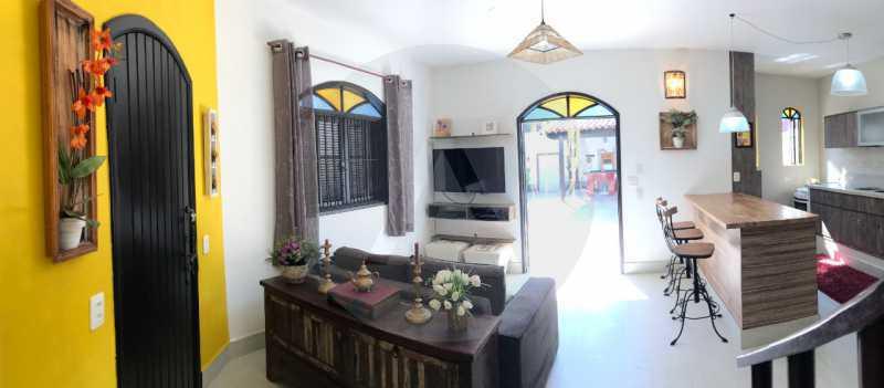14 Casa Condomínio Itaipu. - Imobiliária Agatê Imóveis vende Casa Duplex em Mini Condomínio de 123m² Itaipu - Niterói. - HTCN30086 - 15