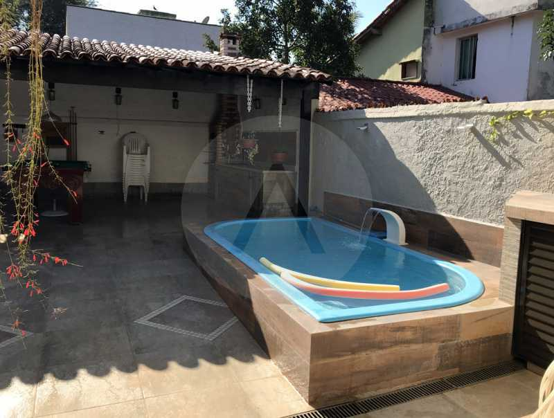 16 Casa Duplex Itaipu. - Imobiliária Agatê Imóveis vende Casa Duplex em Mini Condomínio de 123m² Itaipu - Niterói. - HTCN30086 - 17