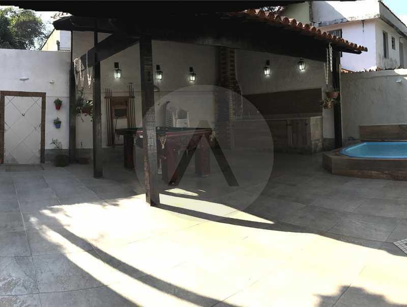 18 Casa Duplex Itaipu. - Imobiliária Agatê Imóveis vende Casa Duplex em Mini Condomínio de 123m² Itaipu - Niterói. - HTCN30086 - 19