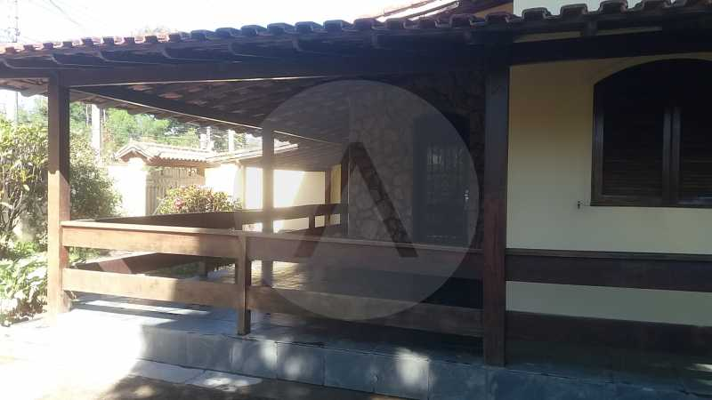 2-Casa Linear Itaipu - Imobiliária Agatê Imóveis vende Casa Linear de 130m² Itaipu - Niterói por 490 mil reais. - HTCA20028 - 3
