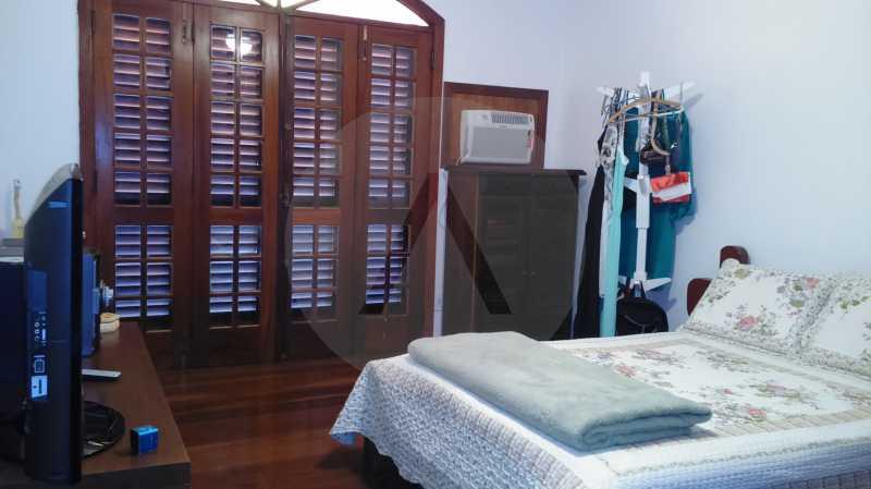 18-Casa Condomínio Piratininga - Imobiliária Agatê Imóveis vende Casa Duplex em Condomínio de 400m² Piratininga - Niterói por 1.350 mil reais. - HTCN40066 - 19