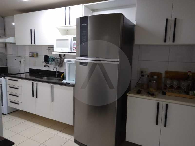 4-Aptº Padrão Itaipu - Imobiliária Agatê Imóveis vende Apartamento de 145 m² Itaipu - Niterói por 570 mil reais. - HTAP30035 - 5