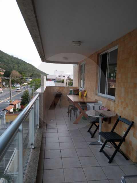 13-Aptº Padrão Itaipu - Imobiliária Agatê Imóveis vende Apartamento de 145 m² Itaipu - Niterói por 570 mil reais. - HTAP30035 - 14