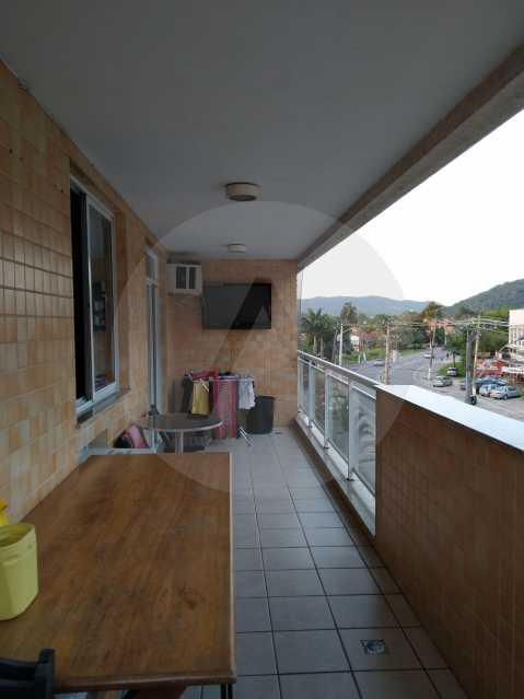 14-Aptº Padrão Itaipu - Imobiliária Agatê Imóveis vende Apartamento de 145 m² Itaipu - Niterói por 570 mil reais. - HTAP30035 - 15