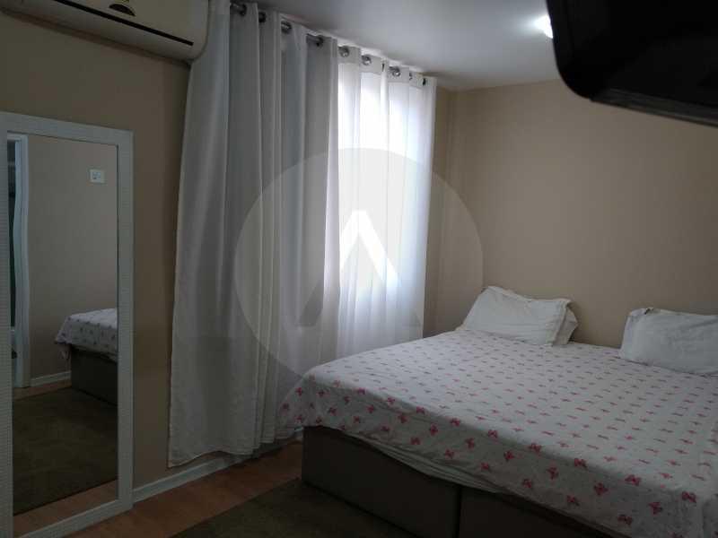 20-Aptº Padrão Itaipu - Imobiliária Agatê Imóveis vende Apartamento de 145 m² Itaipu - Niterói por 570 mil reais. - HTAP30035 - 21