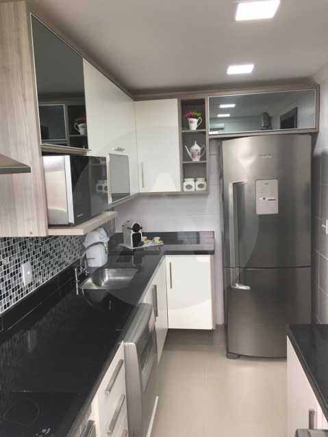 1-Cobertura Linear Itaipu. - Imobiliária Agatê Imóveis vende Cobertura Linear de 106 m² Itaipu - Niterói por 700 mil reais - HTCO20007 - 1