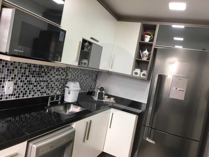 2-Cobertura Linear Itaipu. - Imobiliária Agatê Imóveis vende Cobertura Linear de 106 m² Itaipu - Niterói por 700 mil reais - HTCO20007 - 3