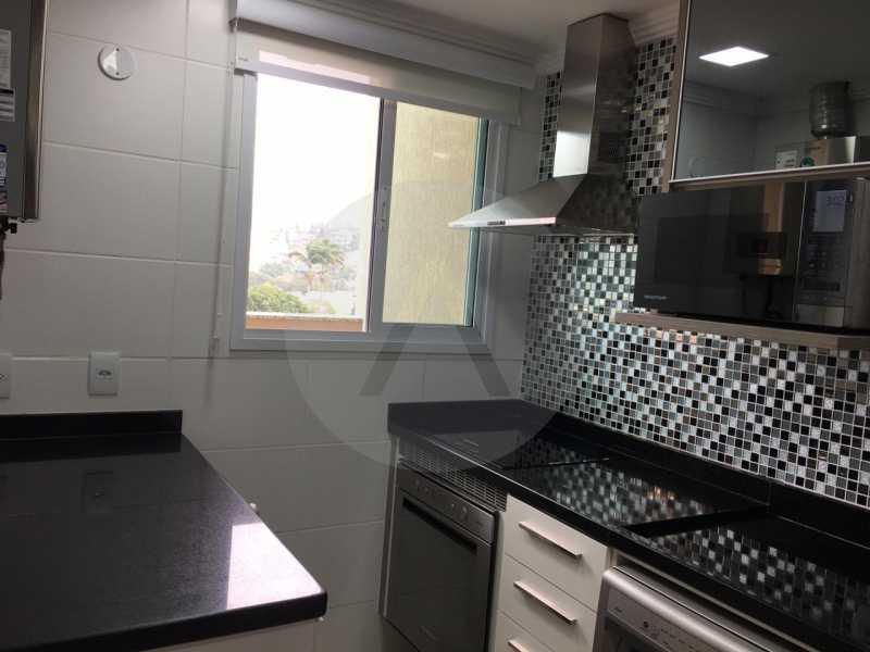 3-Cobertura Linear Itaipu. - Imobiliária Agatê Imóveis vende Cobertura Linear de 106 m² Itaipu - Niterói por 700 mil reais - HTCO20007 - 4
