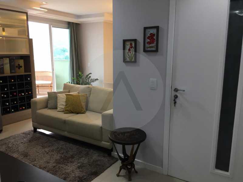 6-Cobertura Linear Itaipu. - Imobiliária Agatê Imóveis vende Cobertura Linear de 106 m² Itaipu - Niterói por 700 mil reais - HTCO20007 - 7